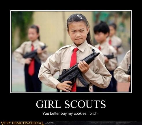 girl scout cookie quotes funny quotesgram