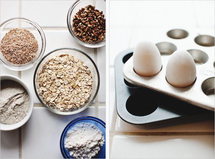 Multigrain Maple Mini Muffins | food | Pinterest