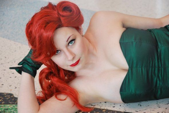 home made poison ivy costume