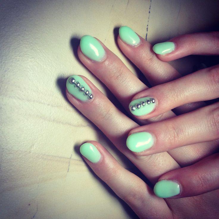 Mint nails #stalbert