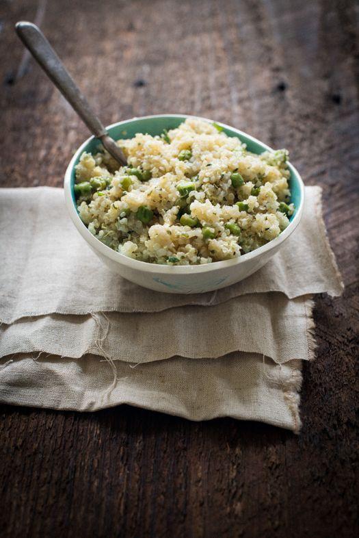 Lemony Quinoa with Mint | Leek Soup | Food&Drink | Pinterest
