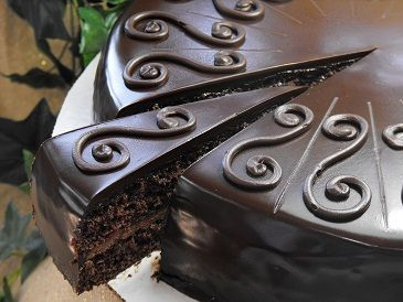 Decadent Chocolate Torte For many more chocolate recipes go to http ...