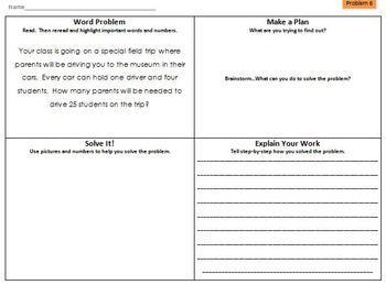 multi step math word problems