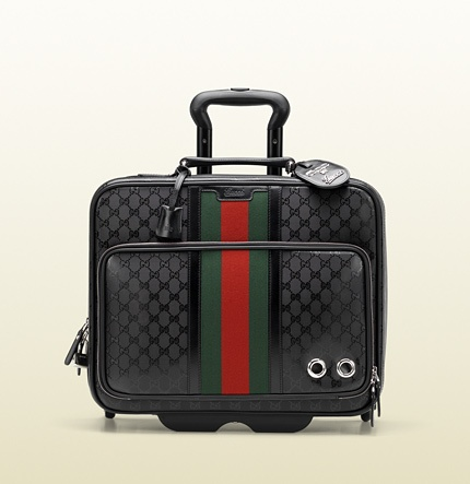 carry-on pilot case with wheels 246459 FOO7N 1060 $2950 Gucci