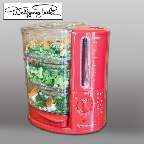 Wolfgang Puck 3 Tier Food Steamer  Model# BERFS010