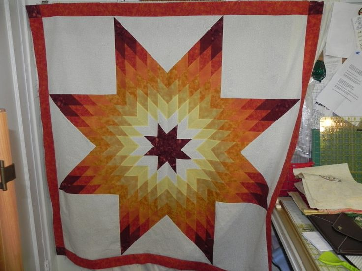 Quilting Pattern For Lone Star : lone star quilt pattern Lone Star Quilts-Lone Star Pinterest