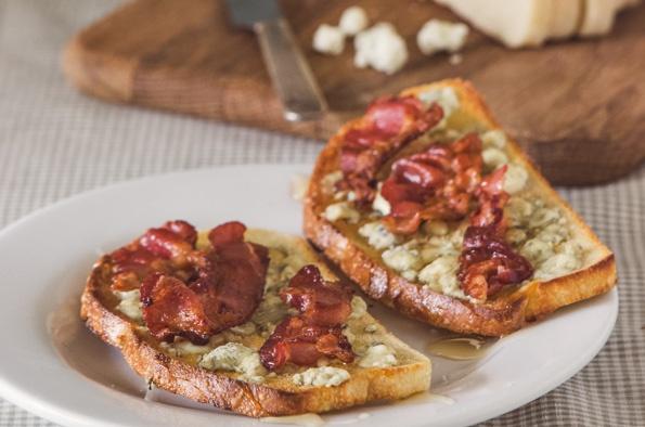 Blue Cheese Tartine | Savory | Pinterest
