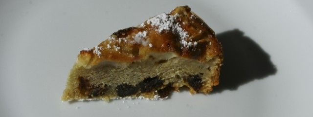 Bustrengo - Polenta and apple cake | Breakfast Anyone? | Pinterest