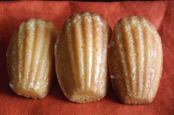 Lemon Glazed Madeleines | Desserts Desserts Desserts | Pinterest