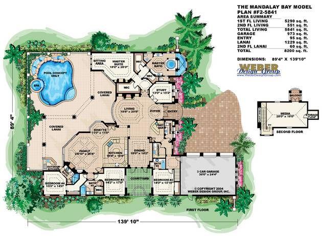 Mandalay Bay House Plan Home Pinterest