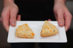Cracked Pepper Cheddar Scones | Recipe