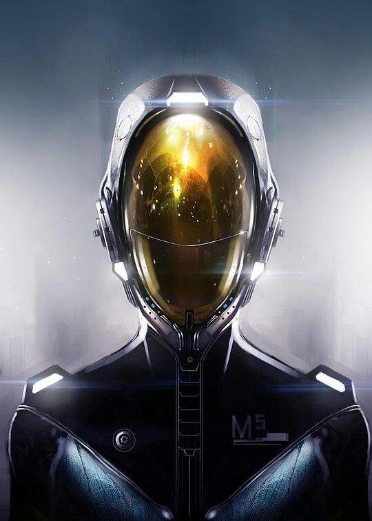 sexy sci fi astronaut helmet - photo #27