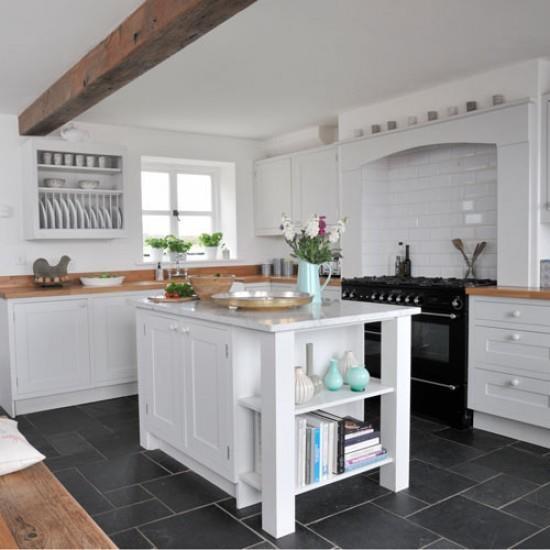Grey Kitchen Grey Floor: Kitchen-grey Floor
