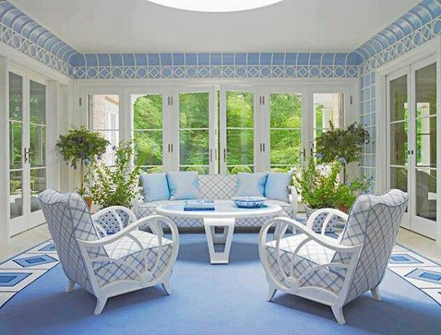 Sun room decorating ideas pinterest - Amazing image of sunroom interior design and decoration ...