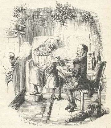 Charles Dickens Christmas Punch recipes: http://www.victorianweb.org ...