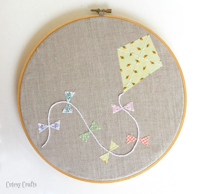 Cutesy Crafts Embroidery Hoop Patterns  Sew Crafty