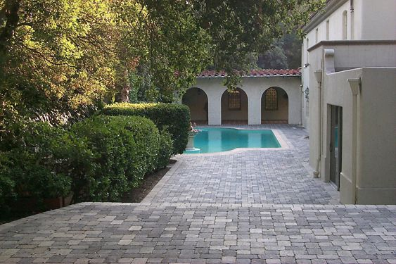 Above Ground Pool Yard Ideas | ... Ideas Above Ground Pool Deck With ...