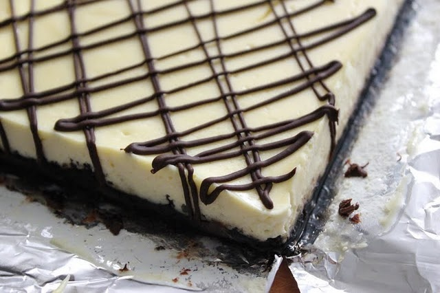 Black and White Cheesecake Squares | Recipes - Cheesecake Campaign ...