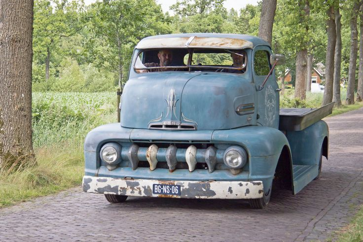 1951 ford coe tow - photo #32