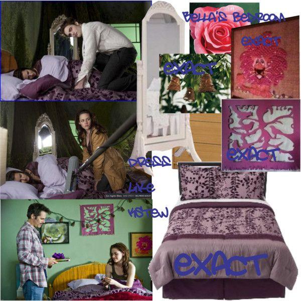 bella 39 s bedroom in new moon by dresslikekstew on polyvore