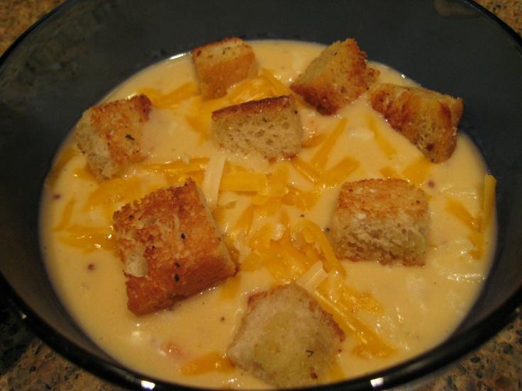 Beer Cheese Soup | Mmm Mmm Good :) | Pinterest