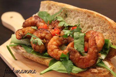 Food Mamma: lemongrass shrimp sandwiche | Sandwiches | Pinterest