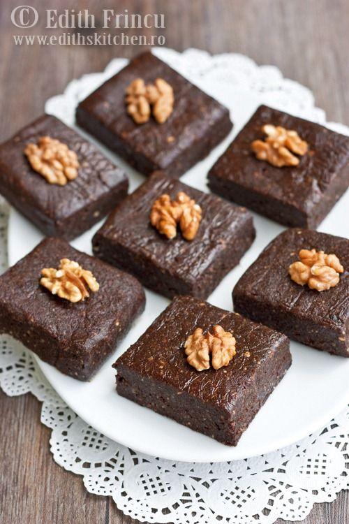 Raw Brownies | Desserts: Brownies | Pinterest