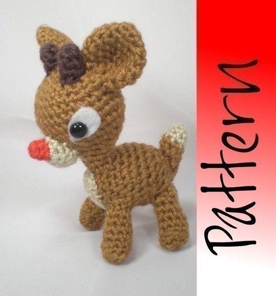 Rudy Reindeer Amigurumi : Crochet - Rudolph Yarn Works! Pinterest