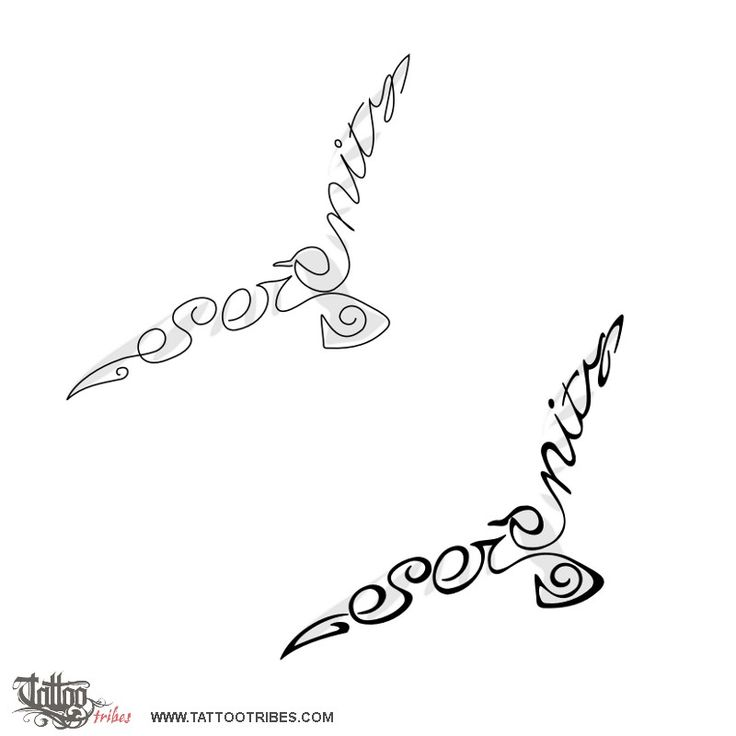 Serenity Symbol Tattoo Designs Sketch Coloring Page