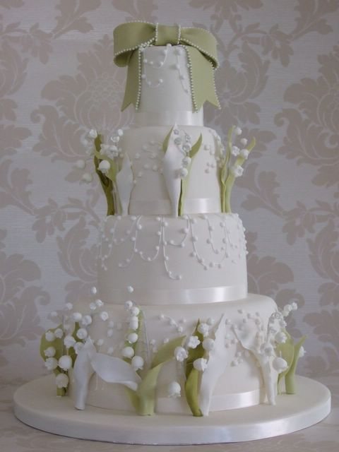 Mint Green And White Wedding Cake David Tutera Love Pinterest