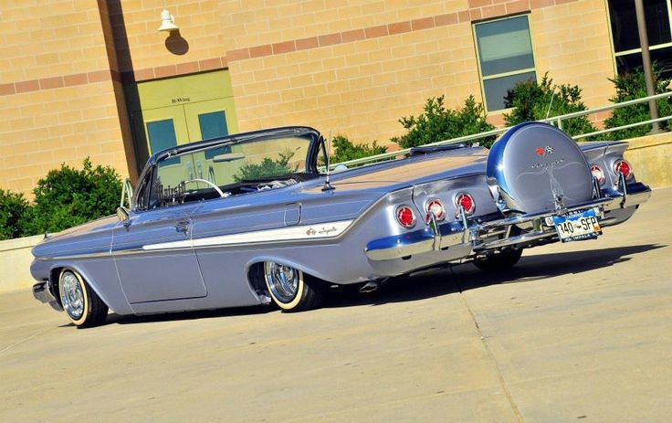 Mikes Chevy Parts 61 Chevy Impala Convertible | Autos Post
