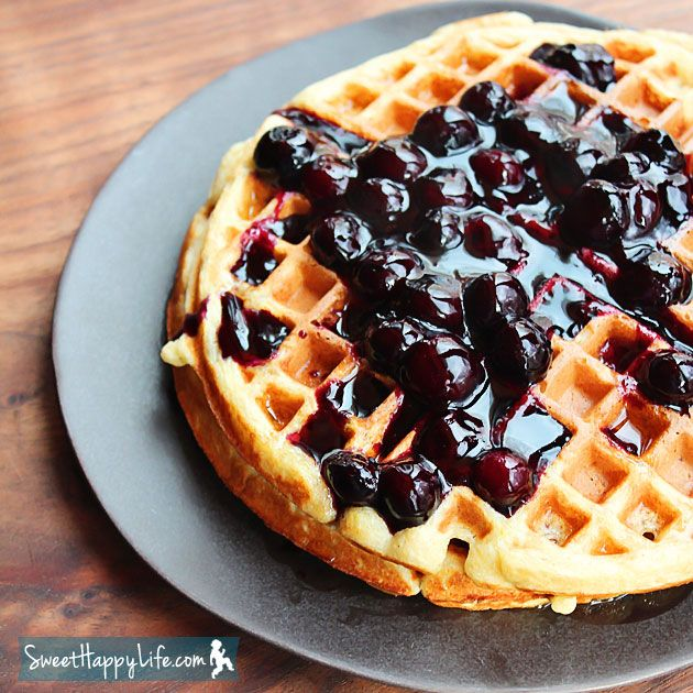 The Many Uses of a Simple Homemade Blueberry Sauce