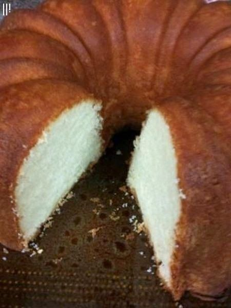 Elvis Presley's Favorite Whipping Cream Pound Cake