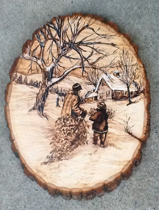 Поделки из дерева с выжиганием 4