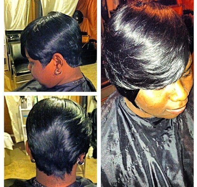 african american shoulder length hairstyles : piece..African American short hairstyle...quick weave Trendy Short ...