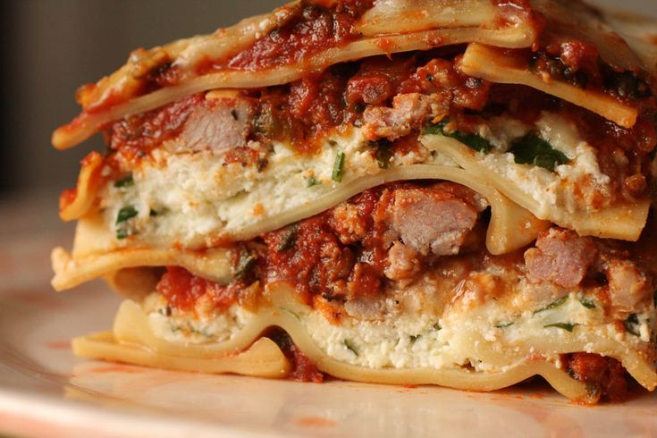Best. Lasagna. Ever. - Modern Family Cooking