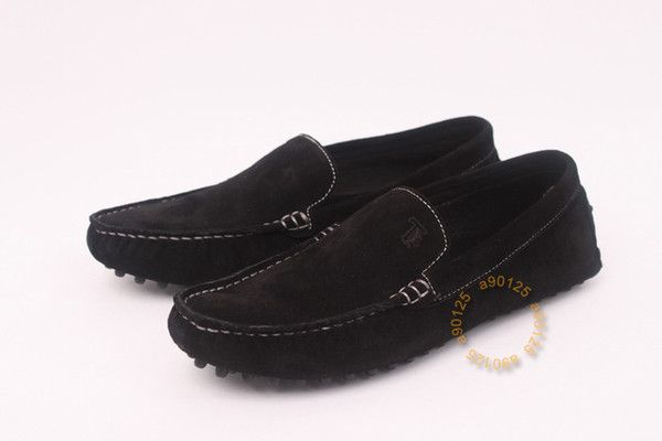 Tod's Womens Moccasin Shoes(black