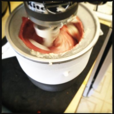 Roasted Strawberry Coconut Milk Ice Cream: Vegan, gluten-free, soy ...