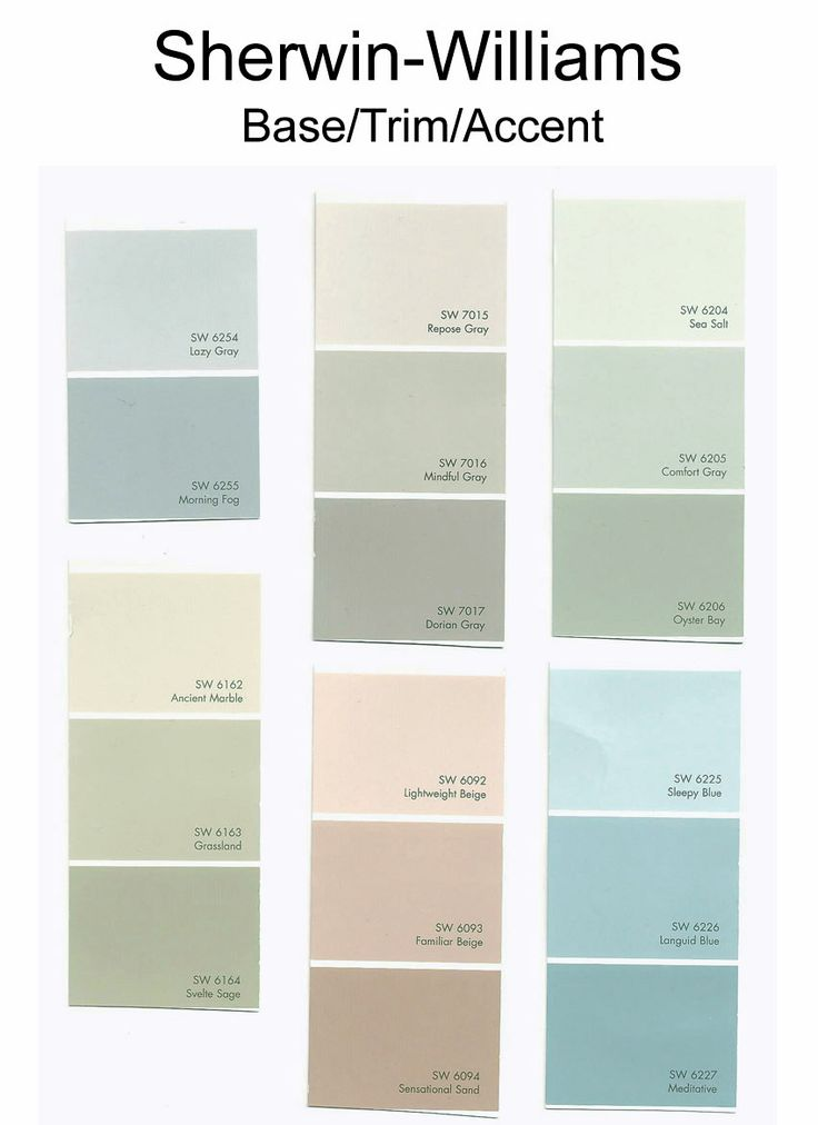 Also loving sea salt for the home pinterest for Sherwin williams paint combinations