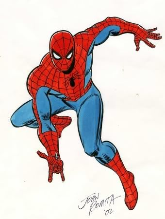 Spider-Man - another character I loved when I was a kid.  I followed him mostly in the 70's and as a result I like Josh Romita Sr.'s version the best
