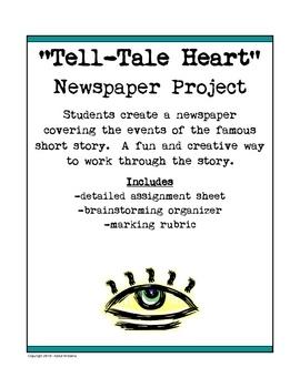 tell tale heart question sheet 0