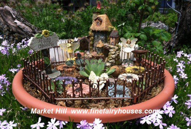 container fairy garden whimsical fairy garden ideas pinterest. Black Bedroom Furniture Sets. Home Design Ideas