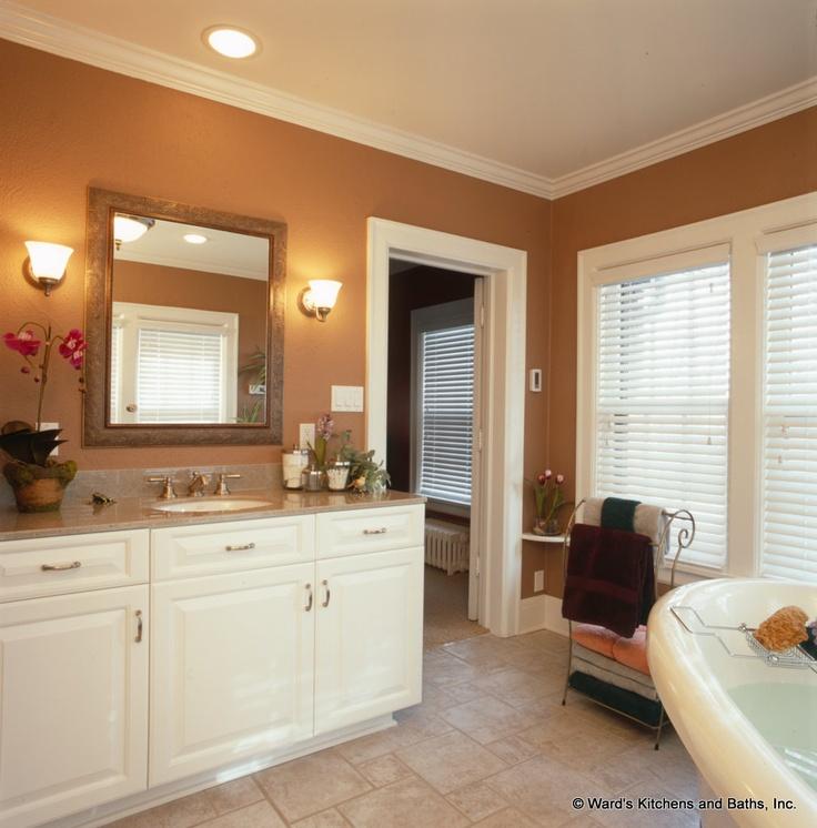 cream vanity bathroom cabinets bathroom remodel pinterest