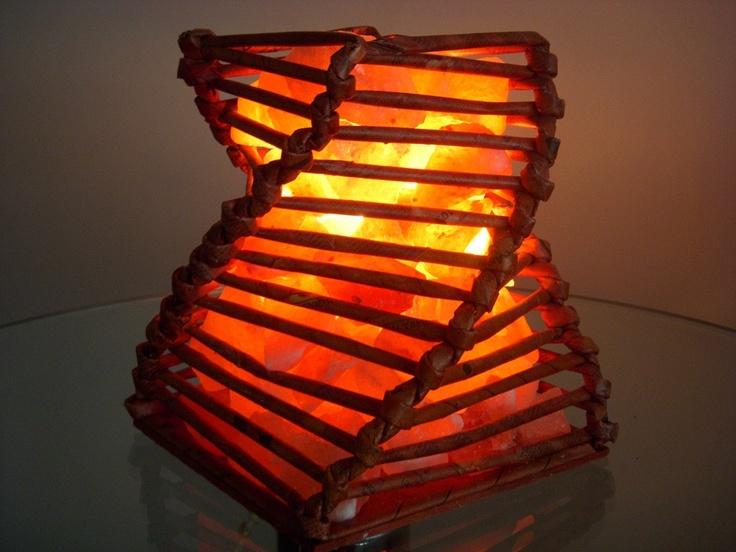 Lámpara de sal Espiral Mediano | Lighting | Pinterest