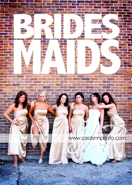 Bridesmaids Movie Pose Idea #bridesmaids #movie #photo #wedding #ideas #slp