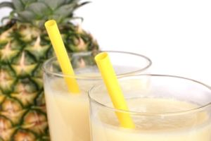Dr. Oz's Pineapple Banana Protein Blaster - weightloss smoothie