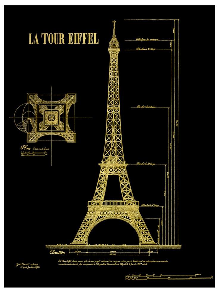 Wendover eiffel tower plans eiffel tower home pinterest for Eiffel architect
