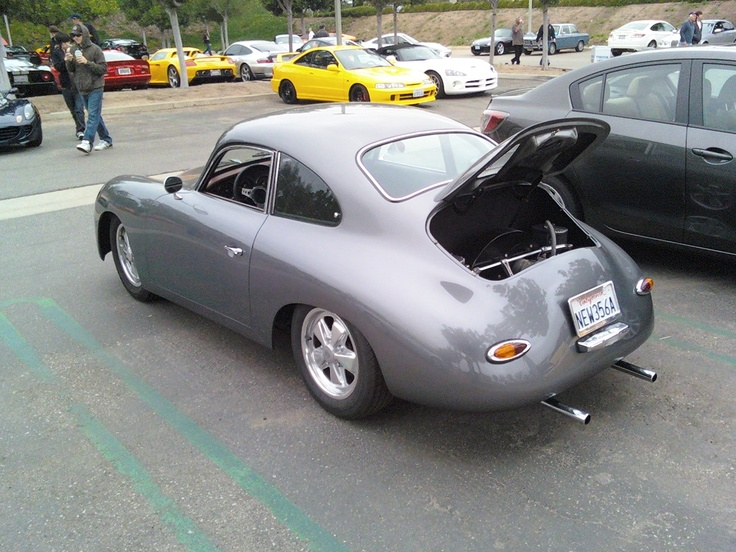 ... Motorsports Porsche Coupe.   Cars and Coffee, Irvine Ca.   Pinter