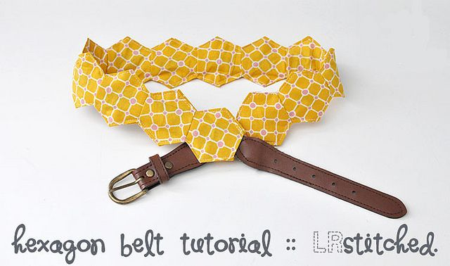 Hexy Belt Tutorial for the Festival of Hexagons! by @lrstitched