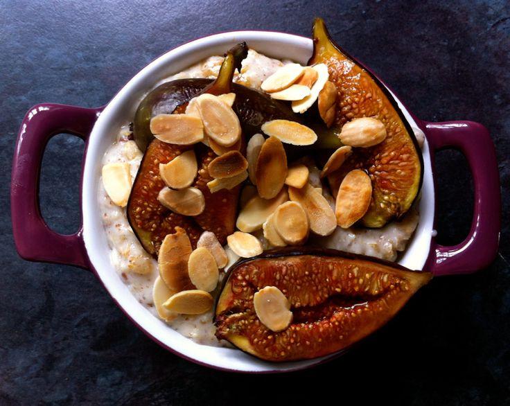 Honey Roasted Fig & Almond Porridge | Stuff to do on a rainy afternoo ...